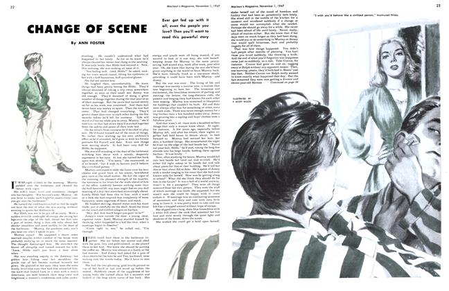 Article Preview: CHANGE OF SCENE, November 1947 | Maclean's