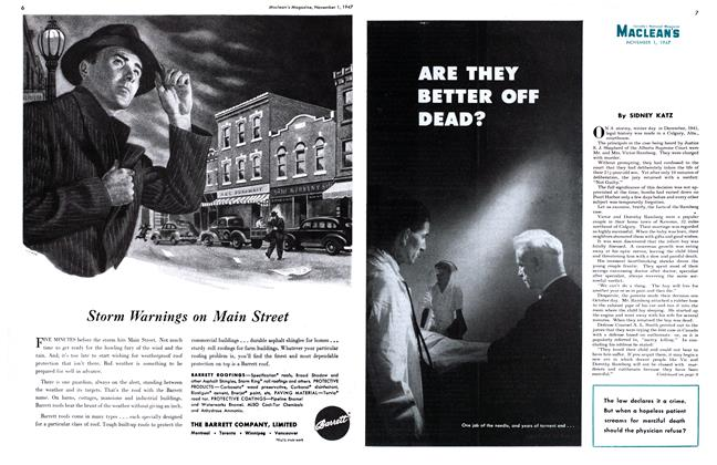 Article Preview: ARE THEY BETTER OFF DEAD?, November 1947 | Maclean's