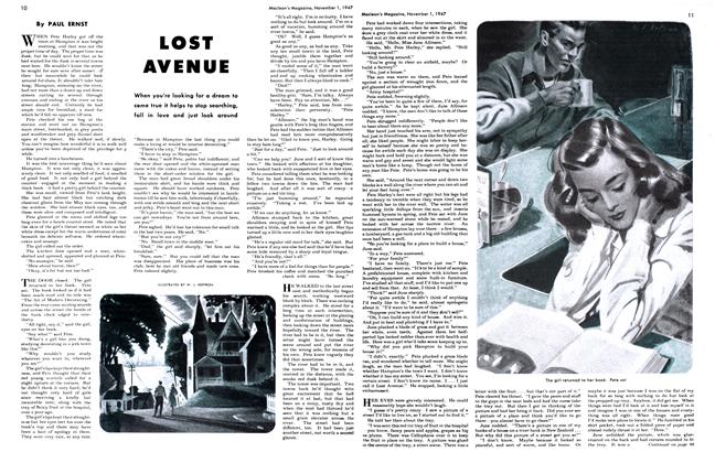 Article Preview: LOST AVENUE, November 1947 | Maclean's