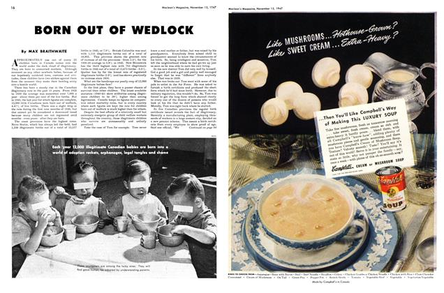 Article Preview: BORN OUT OF WEDLOCK, November 1947 | Maclean's