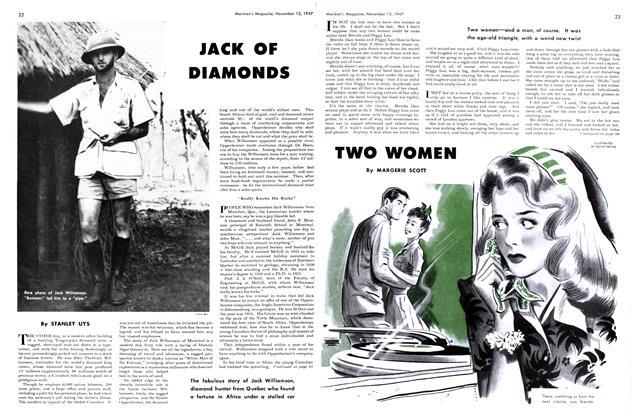 Article Preview: TWO WOMEN, November 1947 | Maclean's