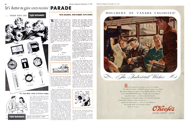 Article Preview: PARADE, November 1947 | Maclean's