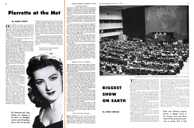 Article Preview: BIGGEST SHOW ON EARTH, November 1947 | Maclean's