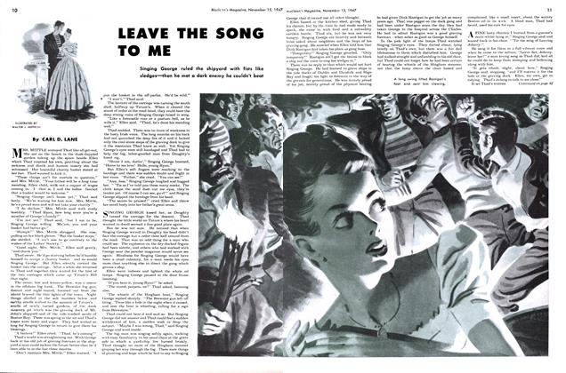 Article Preview: LEAVE THE SONG TO ME, November 1947 | Maclean's