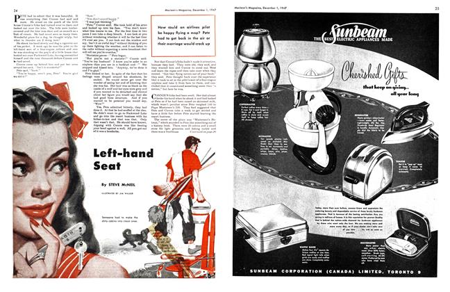 Article Preview: Left-hand Seat, December 1947 | Maclean's