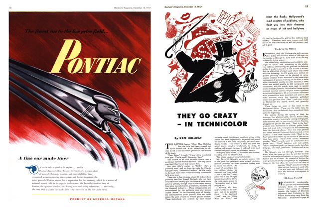 Article Preview: THEY GO CRAZY - IN TECHNICOLOR, December 1947 | Maclean's