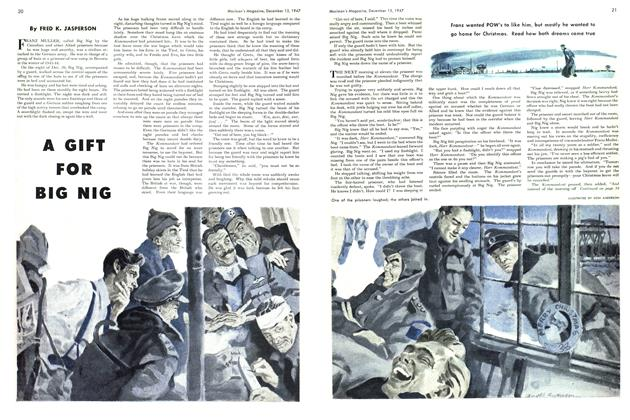 Article Preview: A GIFT FOR BIG NIG, December 1947 | Maclean's