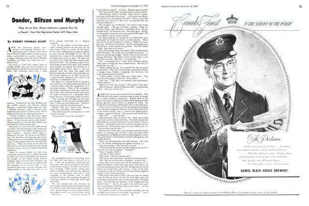Article Preview: Donder, Blitzen and Murphy, December 1947 | Maclean's