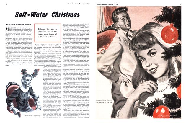 Article Preview: Salt-Water Christmas, December 1947 | Maclean's