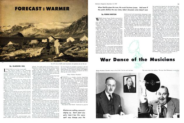 Article Preview: War Dance of the Musicians, December 1947 | Maclean's