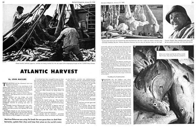 Article Preview: ATLANTIC HARVEST, January 1948 | Maclean's