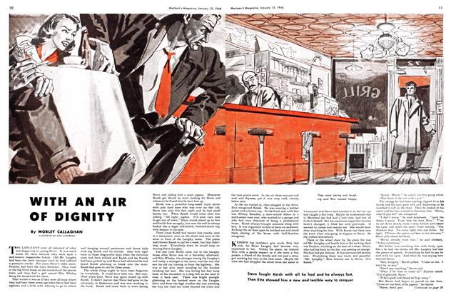 Article Preview: WITH AN AIR OF DIGNITY, January 1948 | Maclean's