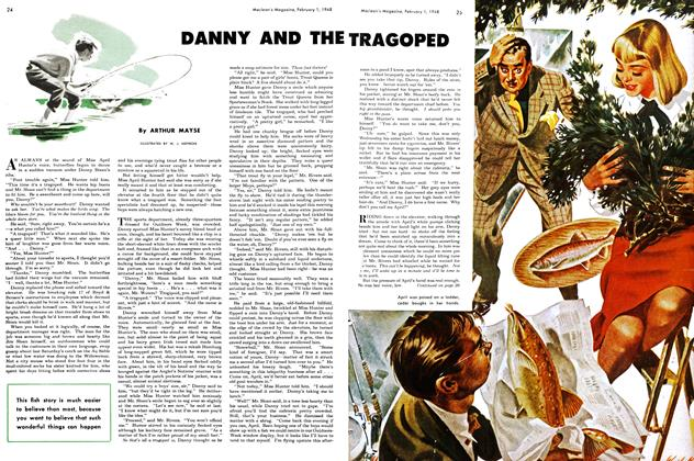 Article Preview: DANNY AND THE TRAGOPED, February 1948 | Maclean's