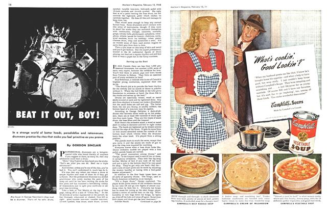 Article Preview: BEAT IT OUT, BOY!, February 1948 | Maclean's