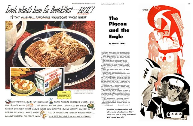 Article Preview: The Pigeon and the Eagle, February 1948 | Maclean's