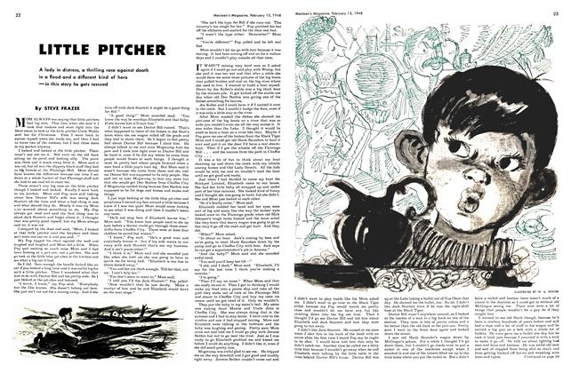 Article Preview: LITTLE PITCHER, February 1948 | Maclean's