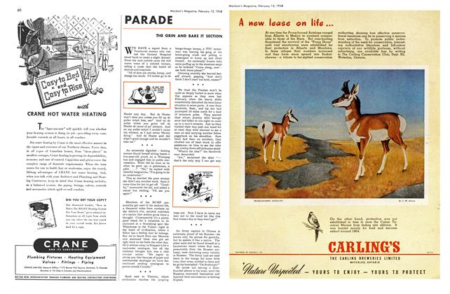 Article Preview: PARADE, February 1948 | Maclean's