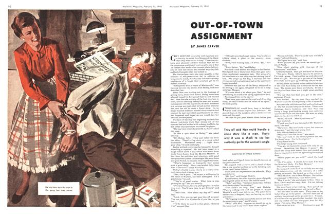 Article Preview: OUT-OF-TOWN ASSIGNMENT, February 1948 | Maclean's