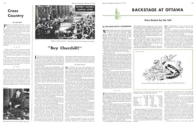 "Article Preview: ""Buy Churchill!"", February 1948 