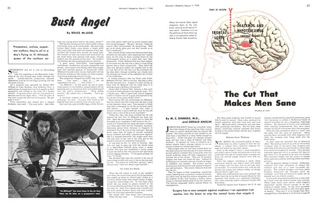 Article Preview: The Cut That Makes Men Sane, March 1948 | Maclean's