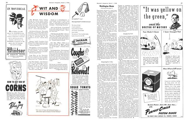Article Preview: WIT AND WISDOM, March 1948 | Maclean's