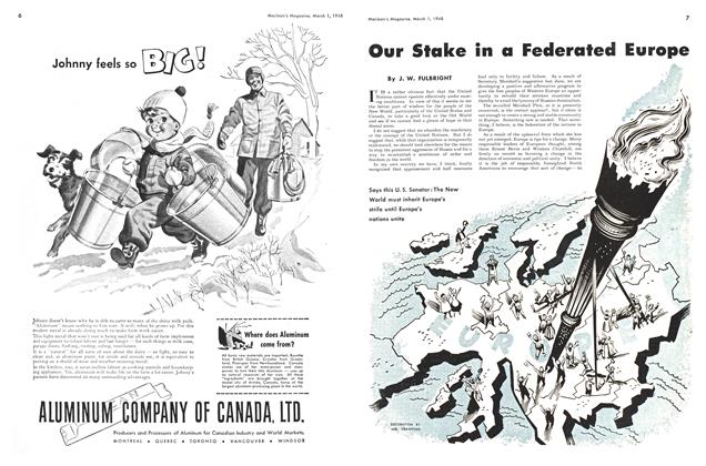 Article Preview: Our Stake in a Federated Europe, March 1948 | Maclean's