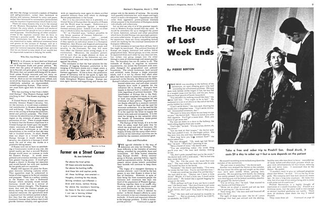 Article Preview: The House of Lost Week Ends, March 1948 | Maclean's