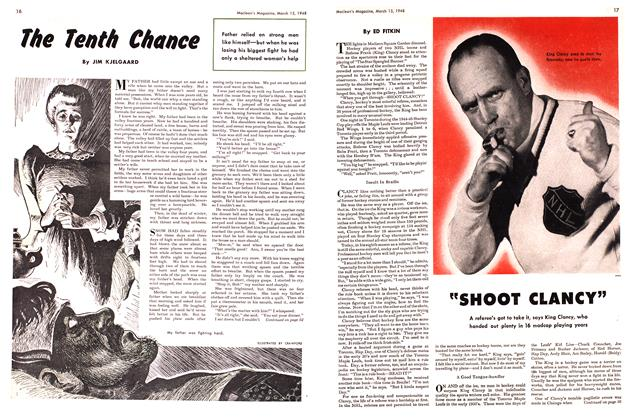 Article Preview: The Tenth Chance, March 1948 | Maclean's