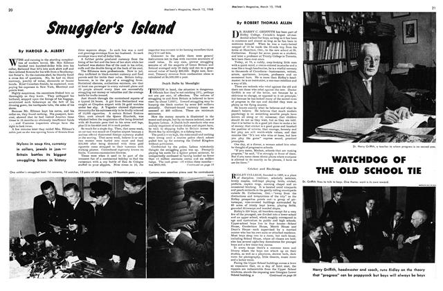 Article Preview: WATCHDOG OF THE OLD SCHOOL TIE, March 1948 | Maclean's