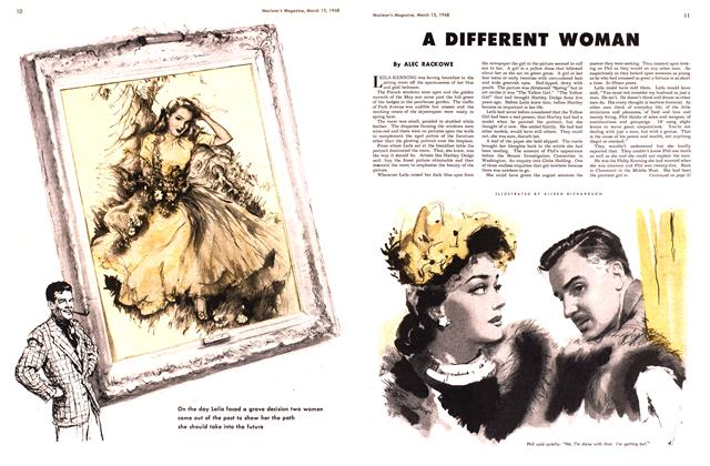 Article Preview: A DIFFERENT WOMAN, March 1948 | Maclean's