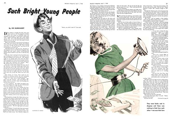 Article Preview: Such Bright Young People, April 1948 | Maclean's