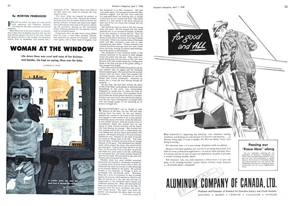 Article Preview: WOMAN AT THE WINDOW, April 1948 | Maclean's