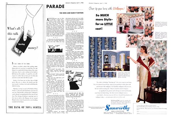 Article Preview: PARADE, April 1948 | Maclean's