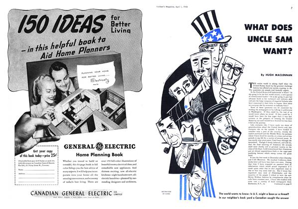 Article Preview: WHAT DOES UNCLE SAM WANT?, April 1948 | Maclean's