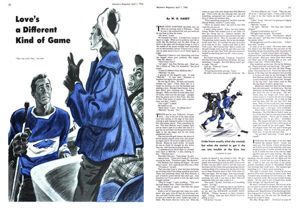 Article Preview: Love's a Different Kind of Game, April 1948 | Maclean's