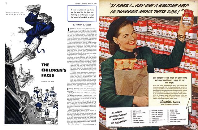 Article Preview: THE CHILDREN'S FACES, April 1948 | Maclean's