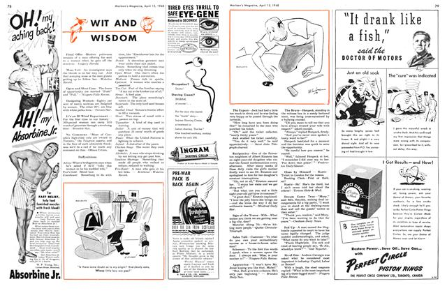 Article Preview: WIT AND WISDOM, April 1948 | Maclean's