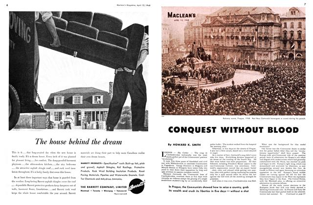 Article Preview: CONQUEST WITHOUT BLOOD, April 1948   Maclean's