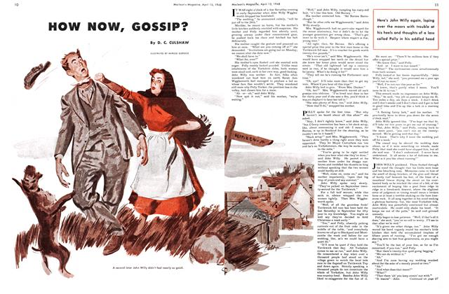 Article Preview: HOW NOW, GOSSIP?, April 1948 | Maclean's