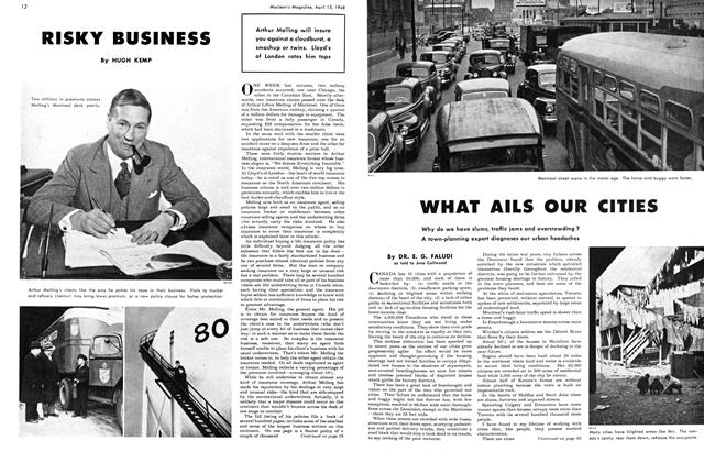 Article Preview: RISKY BUSINESS, April 1948 | Maclean's