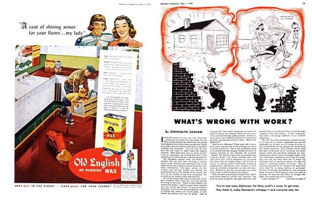 Article Preview: WHAT'S WRONG WITH WORK?, May 1948 | Maclean's