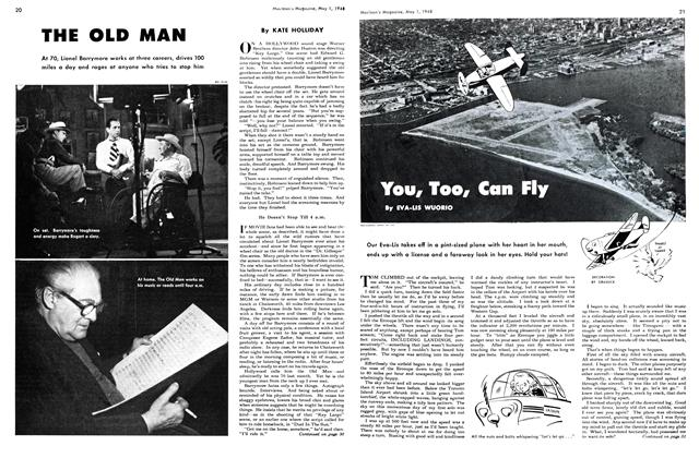 Article Preview: You, Too, Can Fly, May 1948 | Maclean's