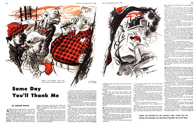 Article Preview: Some Day You'll Thank Me, May 1948 | Maclean's