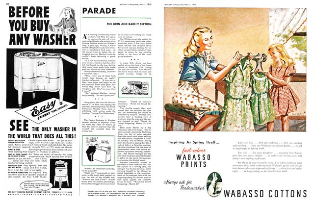 Article Preview: PARADE, May 1948 | Maclean's