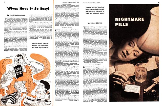 Article Preview: NIGHTMARE PILLS, May 1948 | Maclean's