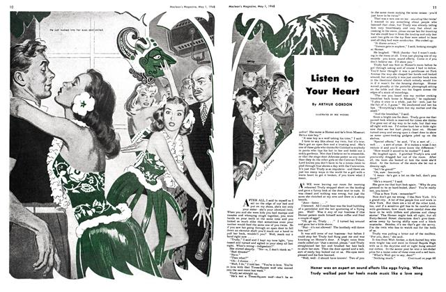 Article Preview: Listen to Your Heart, May 1948 | Maclean's