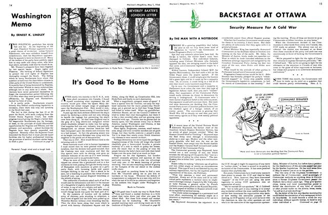 Article Preview: It's Good To Be Home, May 1948 | Maclean's