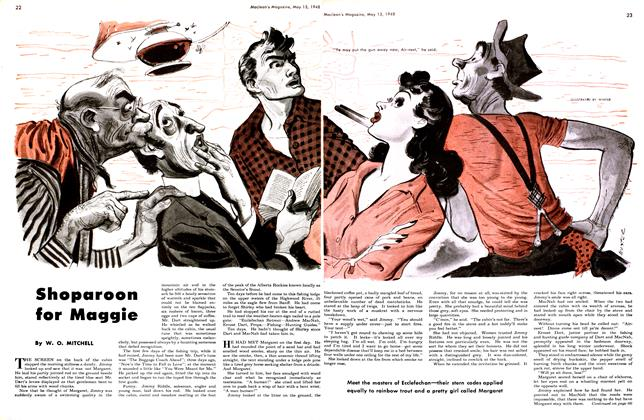 Article Preview: Shoparoon for Maggie, May 1948 | Maclean's