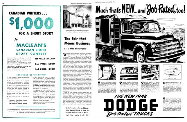 Article Preview: The Fair that Means Business, May 1948 | Maclean's