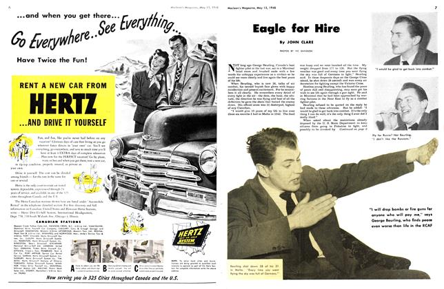 Article Preview: Eagle for Hire, May 1948 | Maclean's